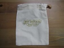 Wells Fargo Canvas Money Bag! Since 1852! Small! Rare! Look! For Coins & Etc..