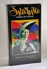 Cirque Du Soleil Saltimbanco VHS Video Tape Circus Acrobatic Performance Show NP