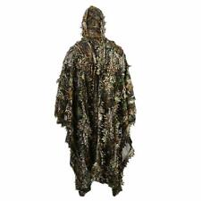 fae8809fbd17d Ghillie Suit Outdoor 3D Leaves Camo Military CS Woodland Hunting Ghillie