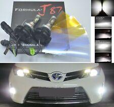 LED Kit X3 50W 9012 HIR2 6000K White Two Bulbs Head Light Dual Beam Replacement