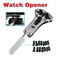 Watch Repair Tool Kit Watchmaker Back Case Opener Wrench Cover Remover Spanner