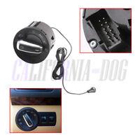 For VW Golf Jett 6 Passat B6 AUTO Headlight Switch /Light Sensor Module Chromed