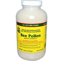 Y S Eco Bee Farms Bee Pollen Whole Granules 16 0 oz 453 g Organic