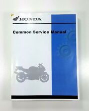 Honda Common Service Manual 2004 Motorcycles, Scooters, Atv, & Watercraft