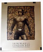 "23"" 1988 Print Nude Body Man Sleeping Gay Interest Iain McKell Photo London Boy"
