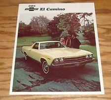 Original 1969 Chevrolet El Camino Foldout Sales Brochure 69 Chevy SS 396