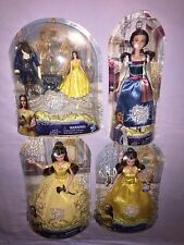 DISNEY BEAUTY and the BEAST MOVIE DOLLS ENCHANTED ROSE SCENE / VILLAGE DRESS ++
