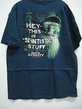 New Men's Duck Dynasty T-Shirt Dark Teal Blue Size XL #125H