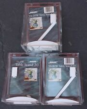 3 Rare Bose TS-30W Speaker Table Stand 20 New In Box Home Audio