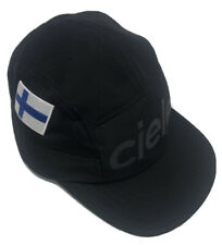 Unisex Ciele Athletics Running Hat Mesh Black Finland Flag