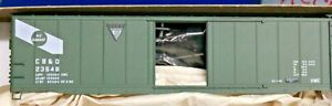HO Scale - ACCURAIL 81212 GENERAL AMERICAN / CB&Q 50' Steel Boxcar - KIT