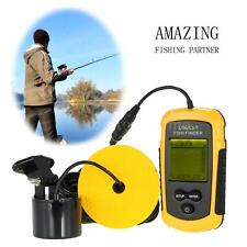 LCD Fish Finder Sonar Sensor Alarm Transducer 100M -Perfect Low Profile POP!