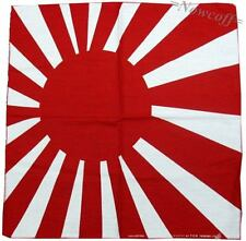 Bandana Rising Sun Japanese Headwrap Hairband Japan Badge Battle Naval Ensign