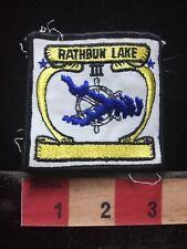 RATHBUN Iowa Patch - I Can't Tell If It's Supposed To Be That Way Or Not? 76GG