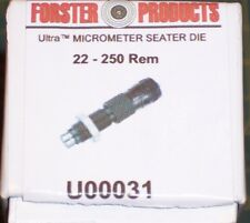 Forster 22-250 Remington Ultra Micrometer Seater Die #U00031.................RR