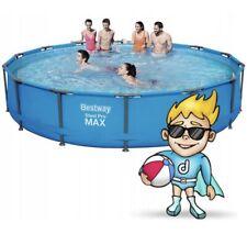 Bestway SteelPool 427 x 84 cm Frame Pool Set Round, Blue