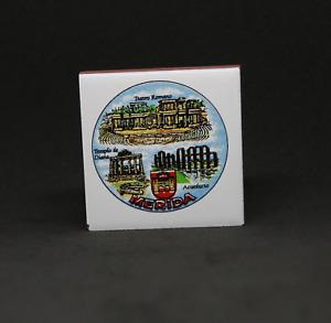 Tile Miniature Stoneware Merida Manufactured IN Spain