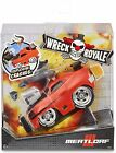 Mga Wreck Royale Crashing Meatloaf Race Car W/ 4 Mix N Match Explosive Parts