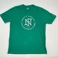 The North Face T-Shirt Men's Extra Large XL Green Vintage Style 1966 Berkeley