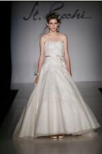 ST.PUCCHI by Rani,wedding Bride DRESS,#9379,SZ 12,COUTURE,embroidered,A-line,23