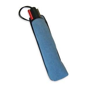 Mobility Cane Holster - Black Leather / Blue Denim, Protection, Holder AM7020