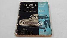 FORD CORSAIR V4 1963 - 1965 PARTS LIST BOOK ORIGINAL GENUINE