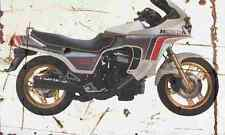 Honda CX500 Turbo 1982 Aged Vintage SIGN A4 Retro