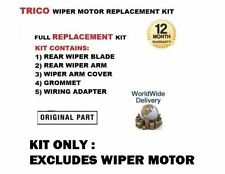FOR BMW MINI 1.4 1.6 2001-2004 REAR WIPER MOTOR TRICO REPLACEMENT KIT ONLY