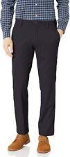 Dockers Mens Pants Blue Size 36X32 Straight Fit Flat Khaki Stretch $62- #585