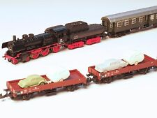 "81428  Marklin Z-scale ""Sylt Auto Travel Train"" Train Set 5 pole motor & 5 cars"