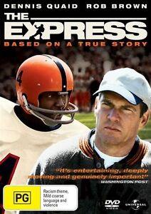 The Express DVD Dennis Quaid 2008 true story sports football movie rare