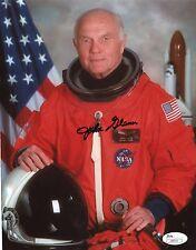 John Glenn Signed Autograph 8x10 Photograph Astronaut Senator JSA Authenticated