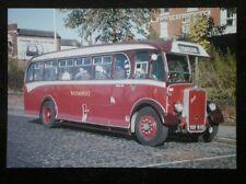 POSTCARD BUS TRAM YSV 610 WILTS & DORSET 1949 BRISTOL L6B WITH BEADLE 32 SEATER