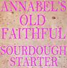 "ANNABEL'S ""OLD FAITHFUL"" SOURDOUGH STARTER  BREAD 50gm"