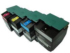 Lexmark C544 X544 Extra High Yield Toner SET C544X1KG C544X1CG C544X1MG C544X1YG