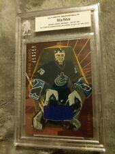 2000 Ultimate Memorabilia Hockey Felix Potvin Game Used Jersey Card # 48/80