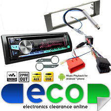AUDI A4 00-05 B6 JVC Bluetooth CD MP3 USB Full STEREO AUTO BOSE Kit di aggiornamento