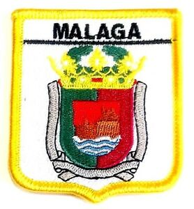 Malaga Embroidered Patch