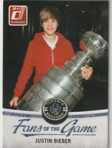 2010-11 Donruss Fans of the Game #3 Justin Bieber
