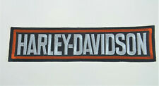 Harley Davidson Motorcycle Patch Bar Logo Sew or Iron On Biker Badge 7 x 1 3/4""