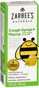 Zarbee's Children's Mucus Relief Grape 4oz