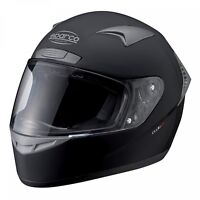 SPARCO CLUB X1 HELMET Black, size M (57-58cm), Full Face BLACK ECE Approved