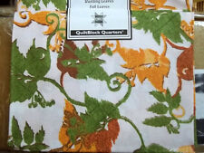 Fat Quarter Joann Block of the Month Rustling Leaves FALL LEAVES 100% Cotton