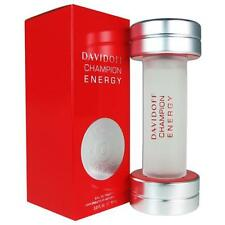Champion Energy Cologne by Davidoff, 3 oz EDT Spray for Men NEW