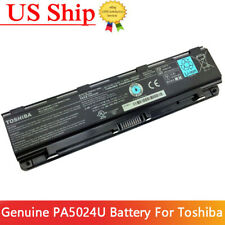 New listing Genuine Pa5024U-1Brs Battery for Toshiba Satellite C850 Pabas260 C800 L875 48Wh
