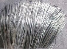 DIY 100M Metallic Silver Gold Purl Wire Coil Bullion Cord Craft Jewelry 1.0mm