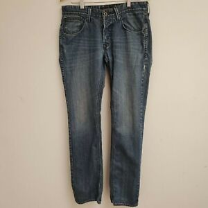 Guess Los Angeles Vermont Slim Button Fly Man Jeans SZ 32/32
