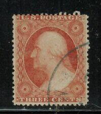 New ListingUnited States #25 rose 1857-61 Used