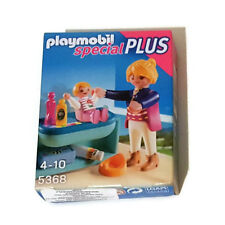Playmobil Mother and Child with Changing Table - Baby Mom Infant Mamá Bebé 5368