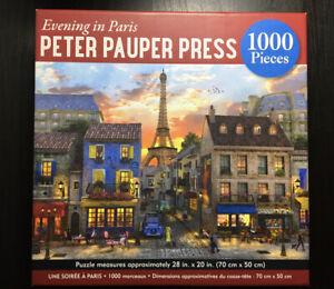 1000 Piece Jigsaw Puzzle - Peter Pauper Press - France
